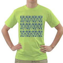 Rabbits Deer Birds Fish Flowers Floral Star Blue White Sexy Animals Green T Shirt by Mariart