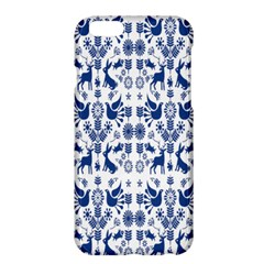 Rabbits Deer Birds Fish Flowers Floral Star Blue White Sexy Animals Apple Iphone 6 Plus/6s Plus Hardshell Case by Mariart