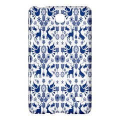 Rabbits Deer Birds Fish Flowers Floral Star Blue White Sexy Animals Samsung Galaxy Tab 4 (8 ) Hardshell Case  by Mariart