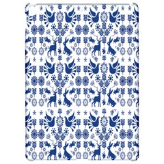 Rabbits Deer Birds Fish Flowers Floral Star Blue White Sexy Animals Apple Ipad Pro 12 9   Hardshell Case