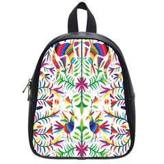 Peacock Rainbow Animals Bird Beauty Sexy School Bag (small) by Mariart