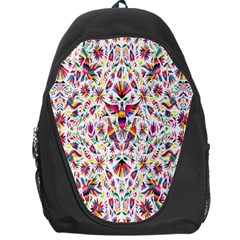 Peacock Rainbow Animals Bird Beauty Sexy Flower Floral Sunflower Star Backpack Bag by Mariart