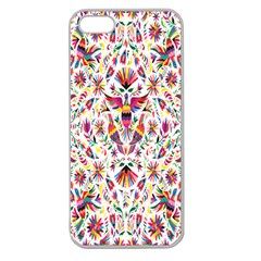 Peacock Rainbow Animals Bird Beauty Sexy Flower Floral Sunflower Star Apple Seamless Iphone 5 Case (clear) by Mariart