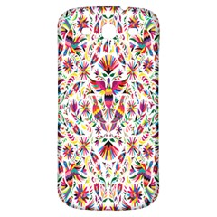 Peacock Rainbow Animals Bird Beauty Sexy Flower Floral Sunflower Star Samsung Galaxy S3 S Iii Classic Hardshell Back Case by Mariart