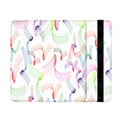 Rainbow Green Purple Pink Red Blue Pattern Zommed Samsung Galaxy Tab Pro 8 4  Flip Case by Mariart