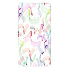 Rainbow Green Purple Pink Red Blue Pattern Zommed Galaxy Note 4 Back Case by Mariart