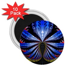 Illustration Robot Wave 2 25  Magnets (10 Pack)  by Mariart