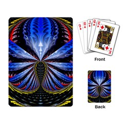 Illustration Robot Wave Playing Card by Mariart
