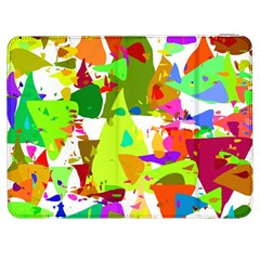 Colorful Shapes On A White Background                       Htc One M7 Hardshell Case by LalyLauraFLM