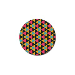 Triangles Pattern                           Golf Ball Marker (4 Pack) by LalyLauraFLM