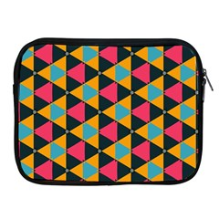 Triangles Pattern                     Apple Ipad 2/3/4 Protective Soft Case by LalyLauraFLM