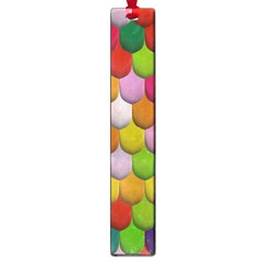 Colorful Tiles Pattern                           Large Book Mark by LalyLauraFLM