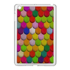 Colorful Tiles Pattern                     Apple Ipad Mini Case (black) by LalyLauraFLM