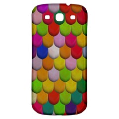 Colorful Tiles Pattern                     Samsung Galaxy S Iii Flip 360 Case by LalyLauraFLM