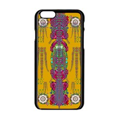 Rainy Day To Cherish  In The Eyes Of The Beholder Apple Iphone 6/6s Black Enamel Case by pepitasart