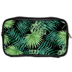 Tropical Pattern Toiletries Bags 2 Side by ValentinaDesign