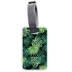 Tropical Pattern Luggage Tags (two Sides) by ValentinaDesign