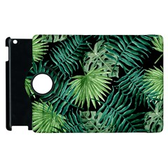 Tropical Pattern Apple Ipad 2 Flip 360 Case by ValentinaDesign