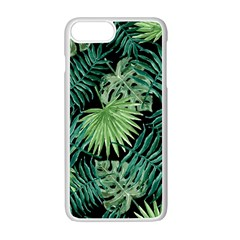 Tropical Pattern Apple Iphone 7 Plus White Seamless Case by ValentinaDesign