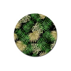 Tropical Pattern Magnet 3  (round) by ValentinaDesign