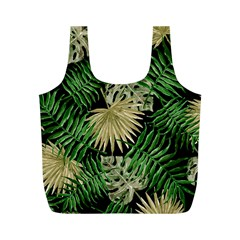 Tropical Pattern Full Print Recycle Bags (m)  by ValentinaDesign
