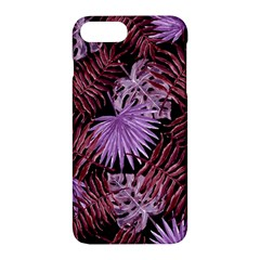Tropical Pattern Apple Iphone 7 Plus Hardshell Case by ValentinaDesign