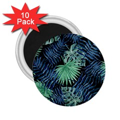 Tropical Pattern 2 25  Magnets (10 Pack)  by ValentinaDesign