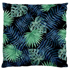 Tropical Pattern Large Flano Cushion Case (one Side) by ValentinaDesign