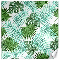 Tropical Pattern Canvas 20  X 20   by ValentinaDesign