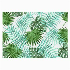 Tropical Pattern Large Glasses Cloth (2 Side) by ValentinaDesign