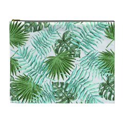 Tropical Pattern Cosmetic Bag (xl) by ValentinaDesign