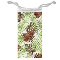 Tropical Pattern Jewelry Bag by ValentinaDesign