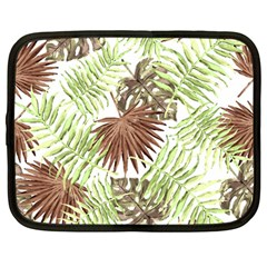 Tropical Pattern Netbook Case (large) by ValentinaDesign