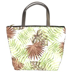 Tropical Pattern Bucket Bags by ValentinaDesign