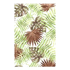 Tropical Pattern Shower Curtain 48  X 72  (small)  by ValentinaDesign