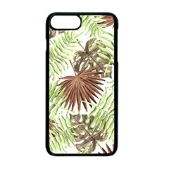 Tropical Pattern Apple Iphone 7 Plus Seamless Case (black) by ValentinaDesign