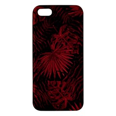 Tropical Pattern Apple Iphone 5 Premium Hardshell Case by ValentinaDesign