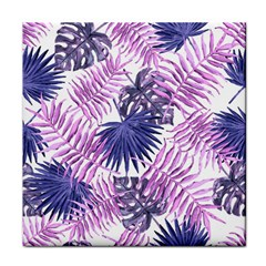 Tropical Pattern Tile Coasters by ValentinaDesign