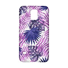 Tropical Pattern Samsung Galaxy S5 Hardshell Case  by ValentinaDesign