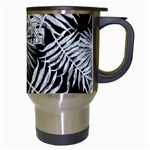 Tropical pattern Travel Mugs (White) Right