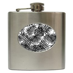Tropical Pattern Hip Flask (6 Oz) by ValentinaDesign