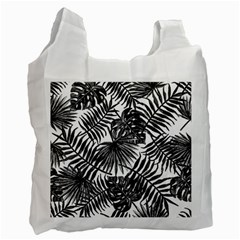 Tropical Pattern Recycle Bag (two Side)  by ValentinaDesign
