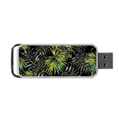 Tropical Pattern Portable Usb Flash (one Side) by ValentinaDesign