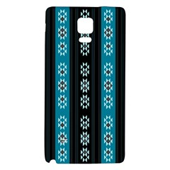 Folklore Pattern Galaxy Note 4 Back Case by ValentinaDesign