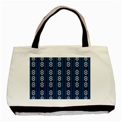 Folklore Pattern Basic Tote Bag by ValentinaDesign