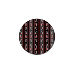 Folklore Pattern Golf Ball Marker (10 Pack) by ValentinaDesign
