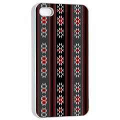 Folklore Pattern Apple Iphone 4/4s Seamless Case (white) by ValentinaDesign