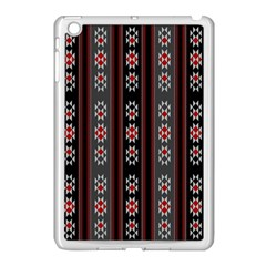 Folklore Pattern Apple Ipad Mini Case (white) by ValentinaDesign