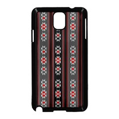 Folklore Pattern Samsung Galaxy Note 3 Neo Hardshell Case (black) by ValentinaDesign