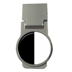 Black And White Money Clips (round)
